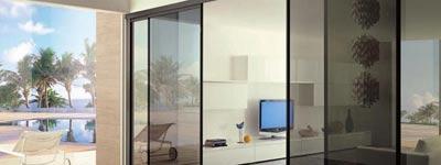 Виды стеклянных дверей в интерьере квартир