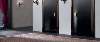 Подборка тёмных дверей под светлый интерьер квартиры